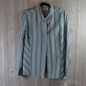 NWT Long Sleeve Blouse Stretch Top PLUS SIZE 16